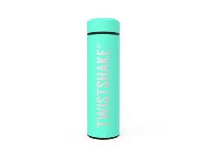 TWISTSHAKE Termoska Hot or Cold 420 ml pastelově zelená