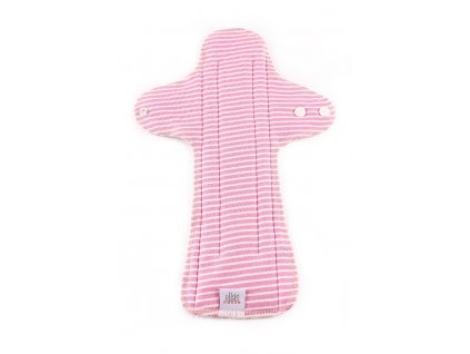 Moon pads maxi stripes pink 1ks