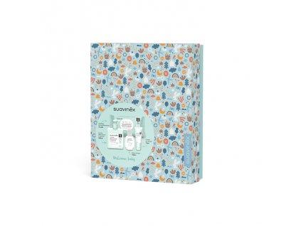 SUAVINEX | Kosmetická sada v dárkové krabičce - modrá