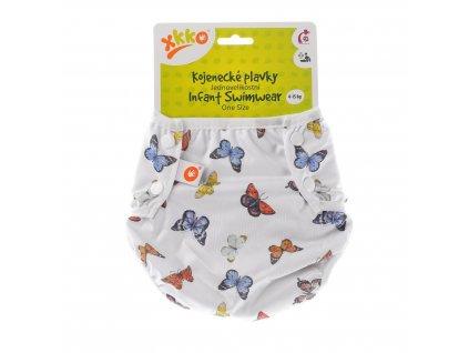 Jednovelikostní kojenecké plavky XKKO - Butterflies