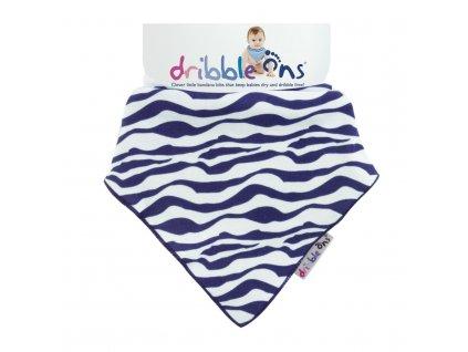 Dribble Ons Designer Zebra