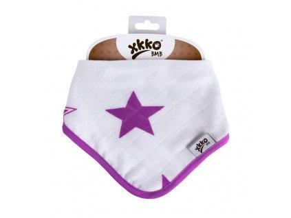 Bambusový slintáček XKKO BMB Lilac Stars