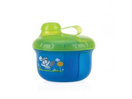 NUBY Dávkovač na mléko 270 ml modrý