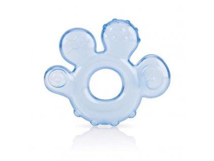 NUBY Kousátko plněné vodou - světle modré 3 m+