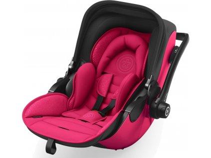 Kiddy Evoluna i-size 2, sklopná autosedačka se základnou ISOFIX Rubin pink