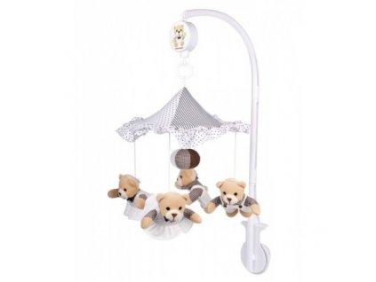Canpol babies Plyšový kolotoč béžoví medvídci