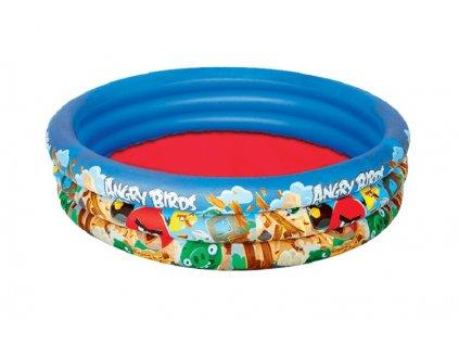 BESTWAY Bazén nafukovací Angry Birds, 152 x 30 cm