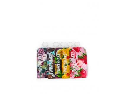 TWISTSHAKE Kapsička plnitelná 220 ml Fruit 5 ks