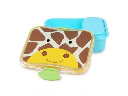 SKIP HOP Zoo Krabička na svačinu 700 ml Žirafa 3+