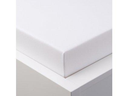 Dekoratex prostěradlo Jersey s gumou 120 x 60 cm BÍLÉ