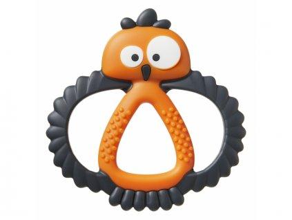 Kousátko senzorické Kalani Maxi oranžové