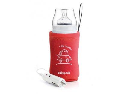 Babypack Cestovní ohřívač do auta, červený