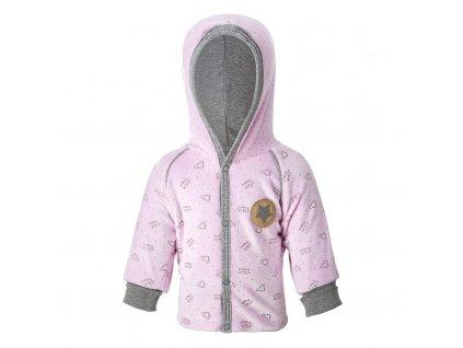 Kabátek NICKI Outlast® - růžová Velikost: 62