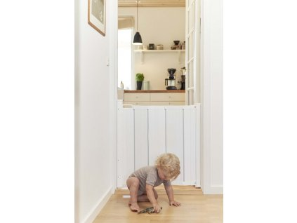 Baby Dan BabyDan Lamelová zábrana Alma bílá 55-89cm, šroubovací