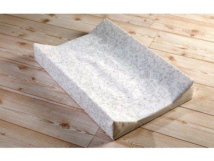 přebalovací matrace origami