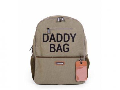 Přebalovací batoh Daddy Bag Canvas Khaki