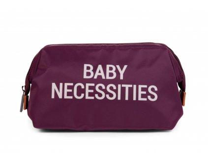 Toaletní taška Baby Necessities Aubergine