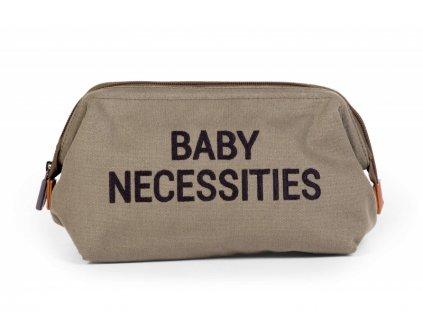 Toaletní taška Baby Necessities Canvas Khaki