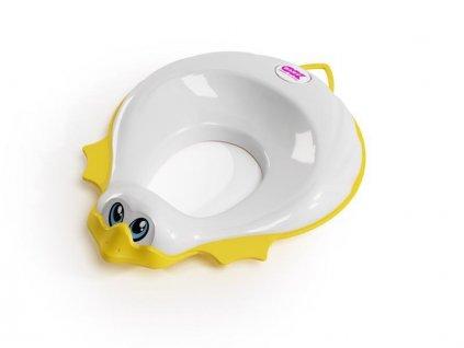 Redukce na WC Ducka bílá 68