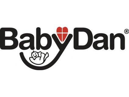 Baby Dan Prodloužení prostorové zábrany Babydan s dvířky 72cm, černé