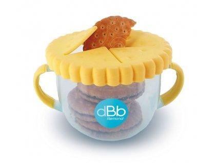 dBb Remond dBb Pohárek na sušenky, 300 ml, žlutá