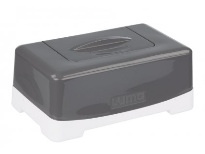 Box na vlhčené ubrousky Luma Dark Grey