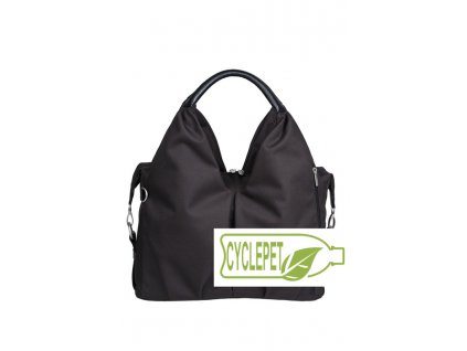 Green Label Neckline Bag black