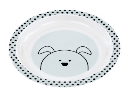 Plate with Silicone 2020 Little Chums dog
