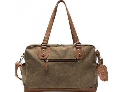 Koelstra přebalovací taška Nenne Olive Beige
