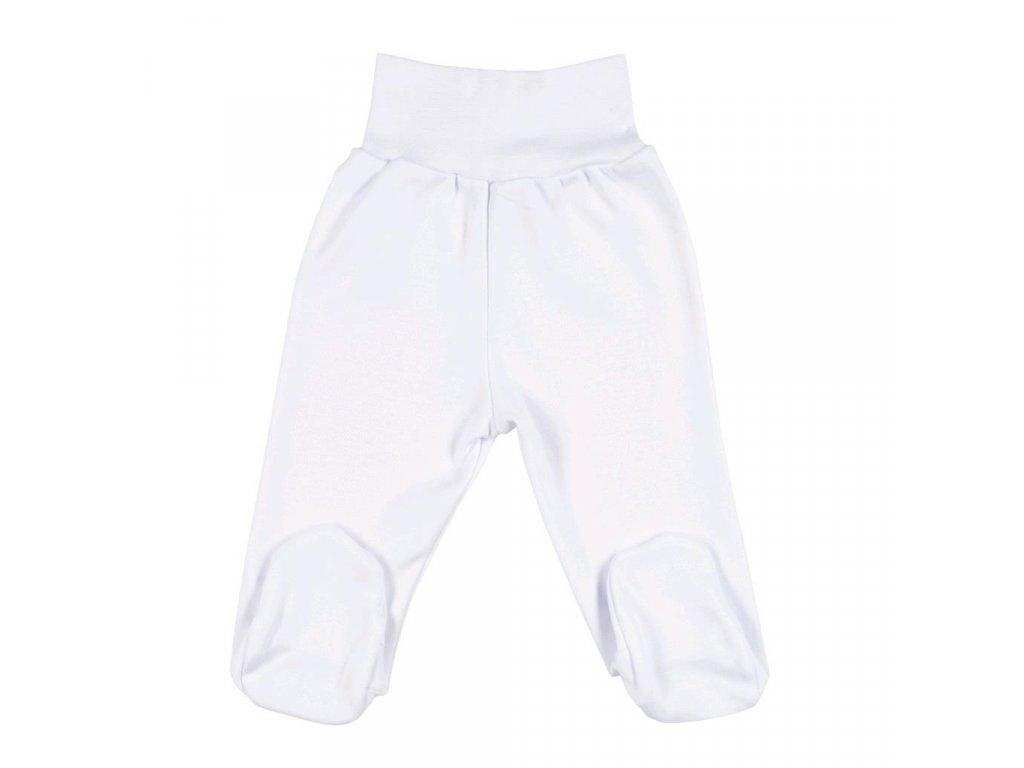 Dojčenské polodupačky New Baby biele