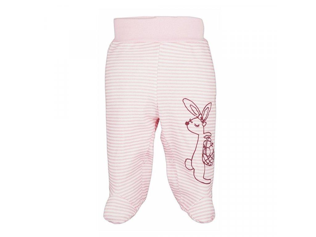 Dojčenské polodupačky Bobas Fashion Mestečko ružové