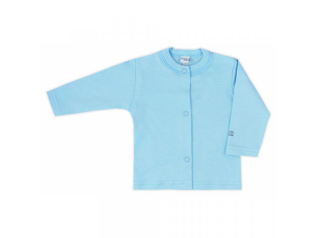 Dojčenský kabátik Bobas Fashion Mini Baby tyrkysový
