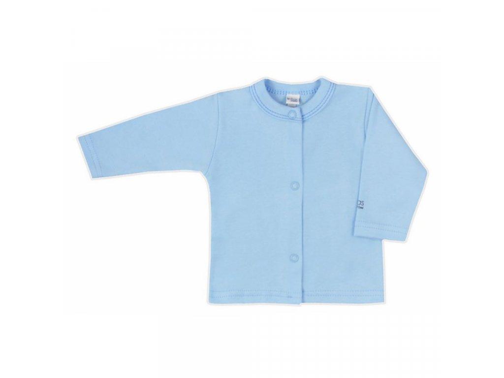 Dojčenský kabátik Bobas Fashion Mini Baby modrý