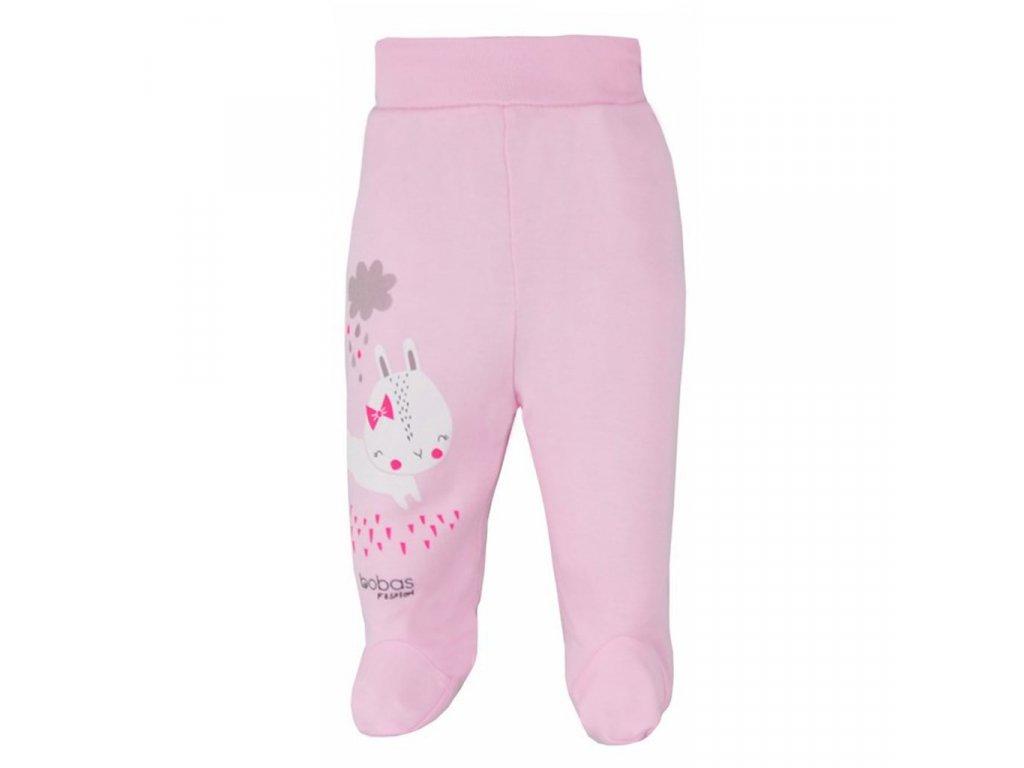 Dojčenské polodupačky Bobas Fashion Mini Baby ružové