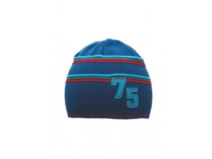 Detská čiapočka Viktor modrá