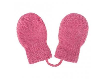 Detské zimné rukavičky New Baby ružové