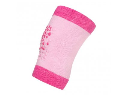 Detské nákolenníky New Baby s ABS ružové