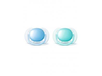 Dojčenský cumlík Ultrasoft Avent 0-6 mesiacov - 2 ks chlapec