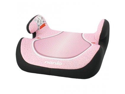Autosedačka-podsedák Nania Topo Comfort Skyline 2017 pink