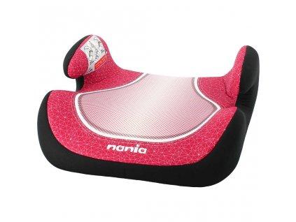 Autosedačka-podsedák Nania Topo Comfort Skyline 2017 red