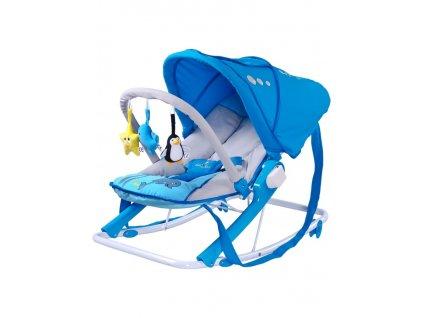 Detské ležadlo CARETERO Aqua blue