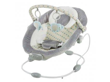 Detské lehátko Baby Mix sivé