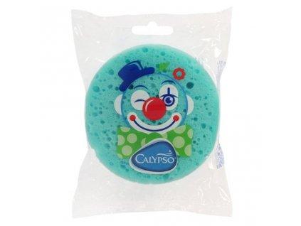 Kúpeľová huba Klaun Calypso zelená