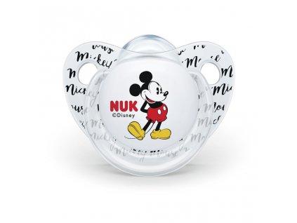Cumlík Trendline NUK Disney Mickey Minnie 6-18m biely