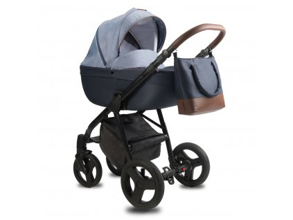 qumes bera qbr quilt blue carrycot style