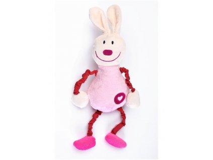 Edukačná plyšová hračka Sensillo králiček s pískatkom