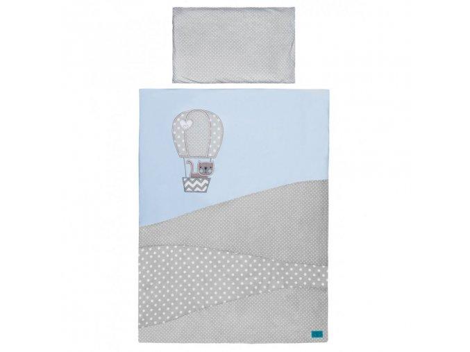 5-dielne posteľné obliečky Belisima Balón 90/120 modré