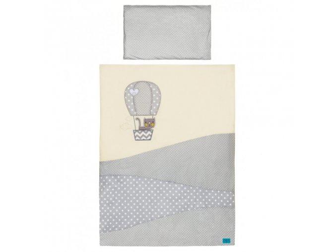 2-dielne posteľné obliečky Belisima Balón 100x135 béžové
