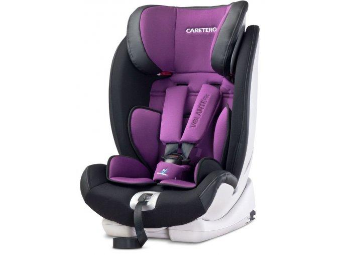 Autosedačka CARETERO Volante Fix purple 2016
