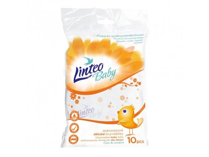 Jednorazové podbradníky Linteo Baby 10ks